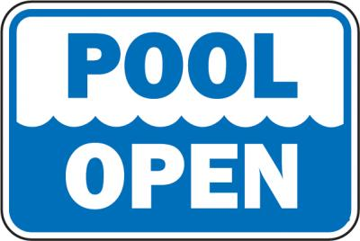 Lets Schedule and Plan that Pool Opening