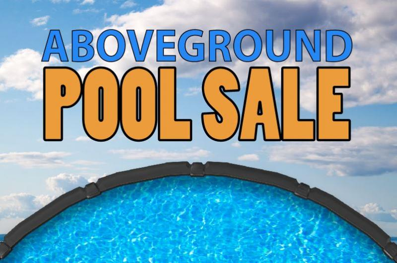 Choose 2 Items for $149. with most Aboveground Pool Packages