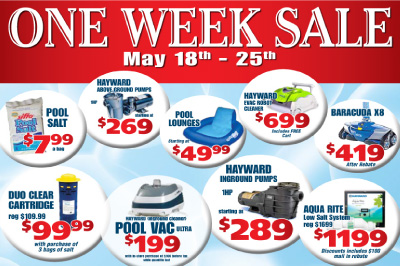 Another One Week Sale!!