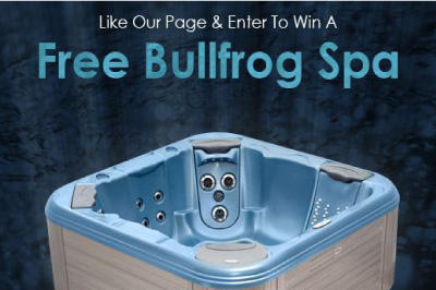 Win a free Bullfrog Spa!!