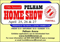 Join us at the Home Leisure Show at the Pelham Arena