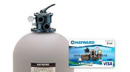 $100 Rebate on Hayward Super Pump and Filter Combo
