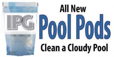 Clear a Cloudy Pool, with All New Pool Pods!