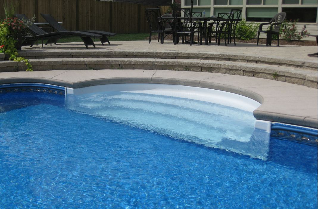 steps spas aqua blue welland