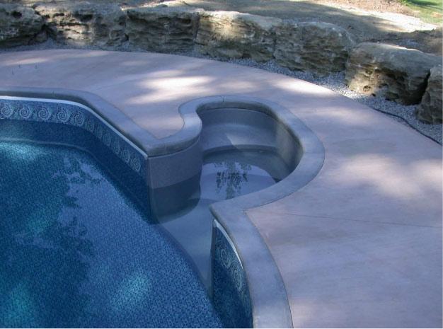 Concrete Aqua Blue Welland
