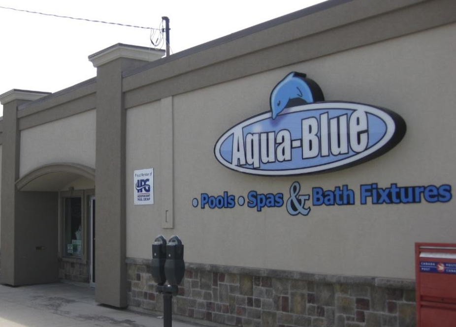 Aquablue Store Front