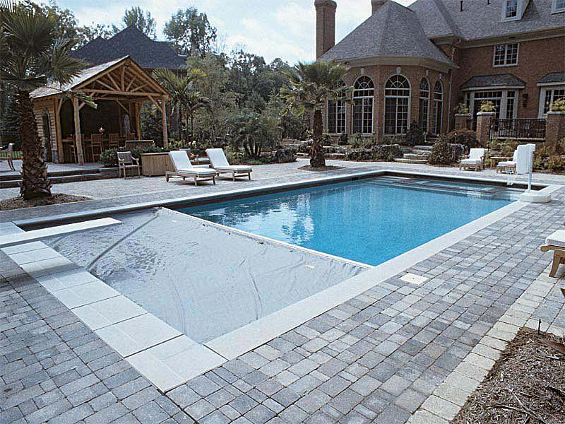 Automatic Pool Cover Aqua Blue Welland