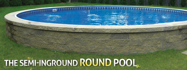 Radiant Metric Round Onground Pool Onground Pools Products Aqua Blue Welland