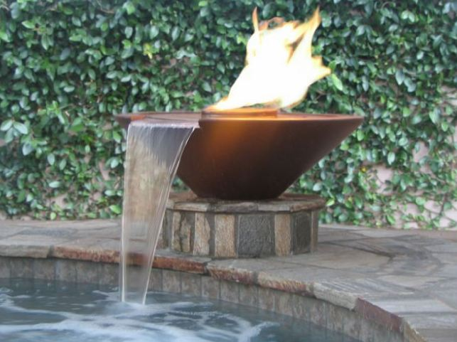 Corinthian Fire And Water Pots Products Aqua Blue