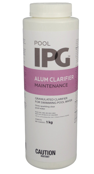 Alum Clarifier Pool Maintenance Products Aqua Blue