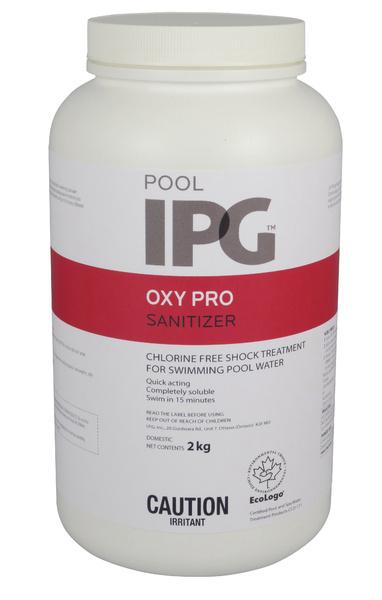 Oxy Pro Pool Sanitizer Products Aqua Blue Welland