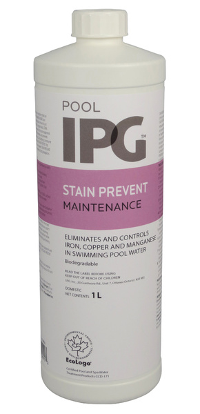 Stain Prevent Pool Maintenance Products Aqua Blue Welland