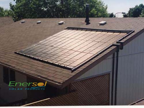Enersol 4x10 Solar Systems Products Aqua Blue Welland